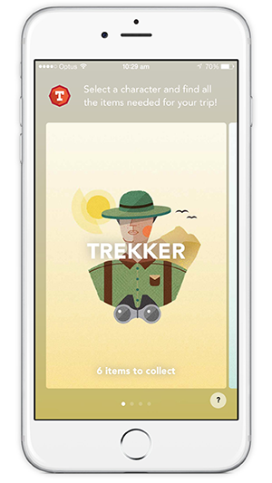 Trailblazers Kids App - Screenshot