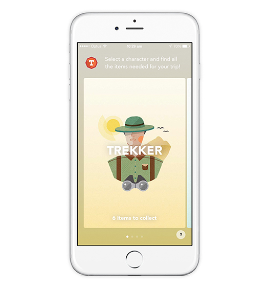 Trekker Screen Trailblazers app